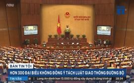 hon-300-dai-bieu-khong-dong-y-tach-luat-giao-thong-duong-bo